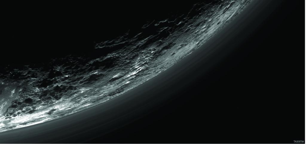 Pluto via NASA